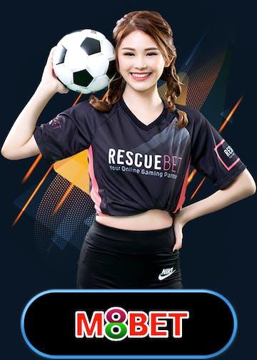 M8bet Sportsbook Logo